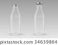 open, milk, bottle 34639864