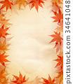 紅葉 紅葉狩り 秋 フレーム 34641048