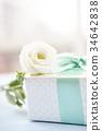 꽃, 리본, 선물 34642838