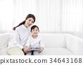 가족, 태블릿피씨, 한국 34643168