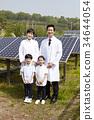 Young men, young women, children 34644054