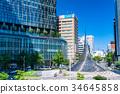 愛知愛知縣名古屋名古屋車站廣場·城市景觀 34645858