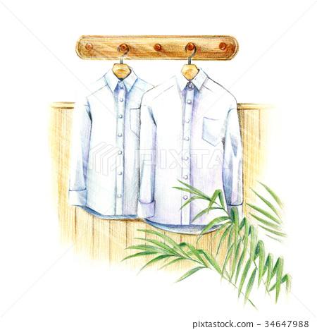 白襯衫 34647988