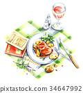 午飯時間 度假 假日 34647992