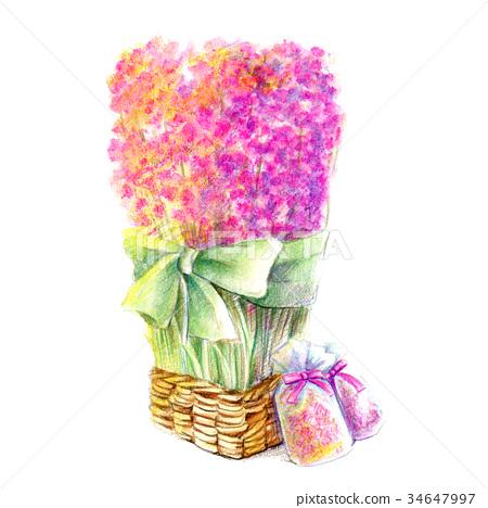 百花香的花束 34647997
