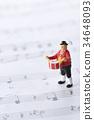 塑像 玩偶 鼓 34648093