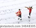 塑像 玩偶 演奏 34648305