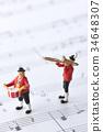 玩偶 塑像 演奏 34648307