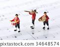 玩偶 塑像 演奏 34648574
