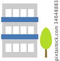 아파트, 맨션, 나무 34648883