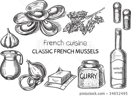 French cuisine. 34652495