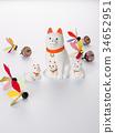 จักรราศีหวาย figurine (พื้นหลังสีขาว) 34652951