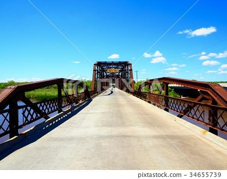 Lake Overholser Bridge/oklahoma USA 34655739