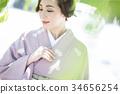 和服女性 34656254