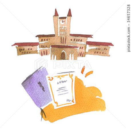 college, university, colleges 34657328