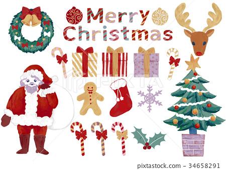聖誕老人 聖誕老公公 聖誕時節 34658291