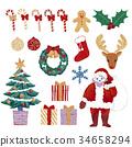 산타클로스, 산타 할아버지, 크리스마스 34658294