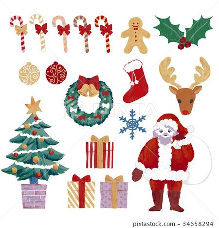 聖誕老人 聖誕老公公 聖誕時節 34658294