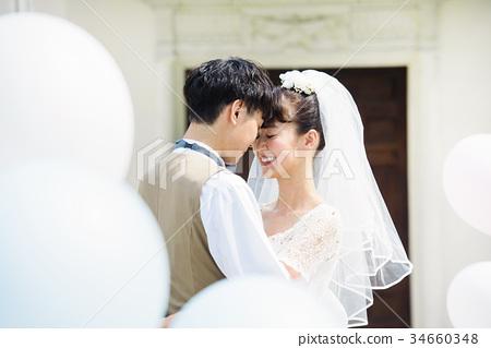 婚禮 新郎 新娘 34660348