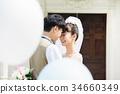婚禮 新郎 新娘 34660349