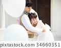 婚禮 新郎 新娘 34660351