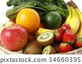 ผักผลไม้ทั้ง 34660395