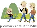 徒步旅行 遠足 家庭 34661588