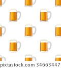 vector glass mug 34663447