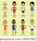 向量 向量圖 足球 34667802