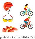 vector, bicycle, bike 34667853