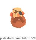 eye patch beard 34668729