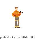 灭火器 火 解雇 34668803
