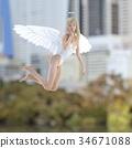 天使 仙子 女性 34671088