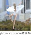 天使 仙子 女性 34671090