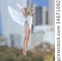 天使 仙子 女性 34671092