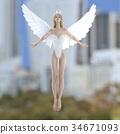 天使 仙子 女性 34671093