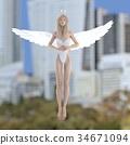 天使 仙子 女性 34671094