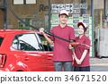 加油站 店员 售货员 34671520