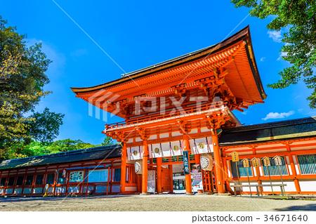 京都Shimogamo神社世界遺產 34671640