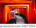 京都伏见稻荷大社日本 34671665
