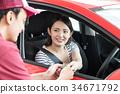 加油站 女性 女 34671792