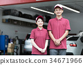 加油站 店员 售货员 34671966