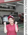 加油站 店员 售货员 34672066