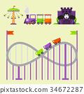 vector leisure amusement 34672287