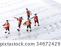 玩偶 塑像 演奏 34672429