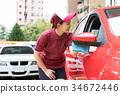 加油站 店员 售货员 34672446