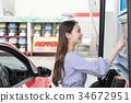 加油站加油自駕車租車 34672951