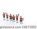 塑像 玩偶 演奏 34673892