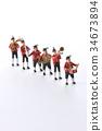 玩偶 塑像 演奏 34673894