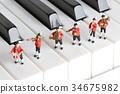 音乐 钢琴 演奏 34675982